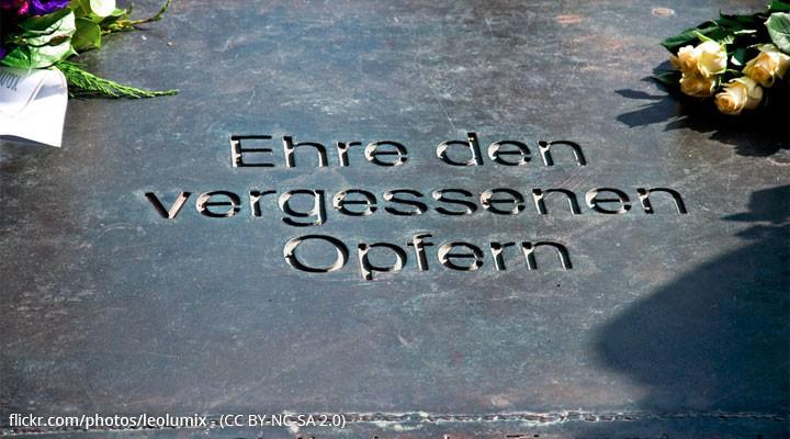 Gedenktafel für die Opfer des Naziregimes