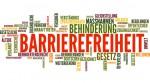 Schriftzug Barreirefreiheit