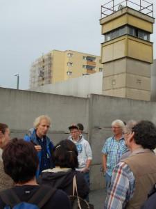 Besuch der Mauergedenkstätte