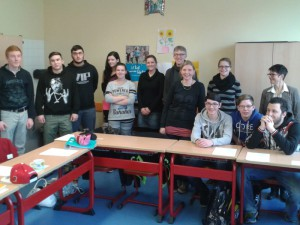 Klasse 9/10 der Medard-Schule (© P. Hoffmann)