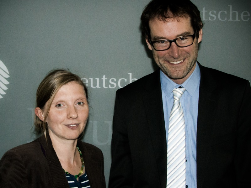 Corinna Rüffer mit Jens Kaffenberger