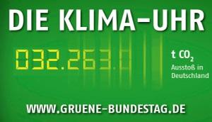 Banner-Klimauhr
