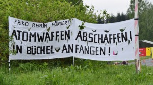 Blockade gegen Atomwaffen in Büchel (16.05.2015)