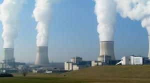 Kühltürme des Atomkraftwerks Cattenom