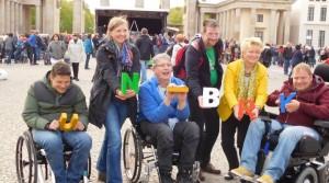 Protesttag für die Gleichstellung behinderter Menschen in Berlin, 4. Mai 2016