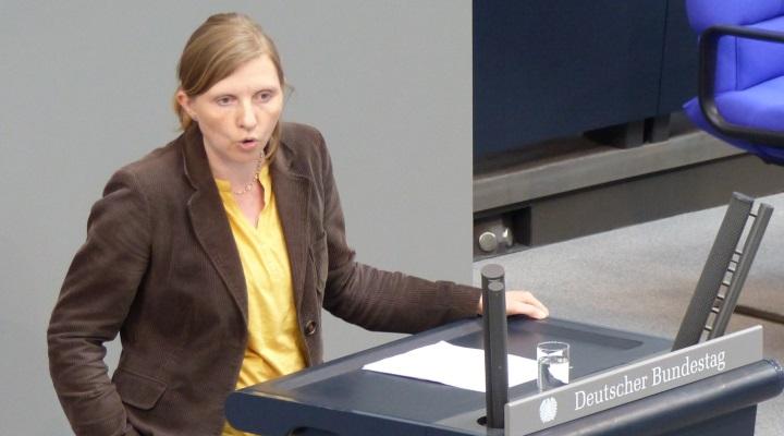 Corinna Rüffer am Rednerpult