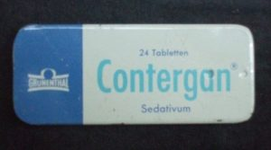 Packung Contergan-Tabletten