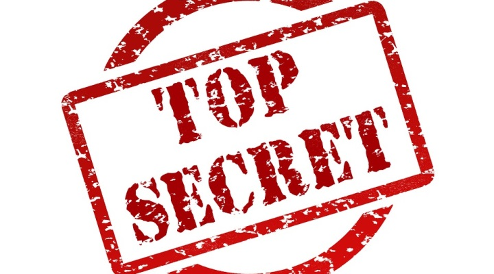 "Stempel ""Top Secret"""