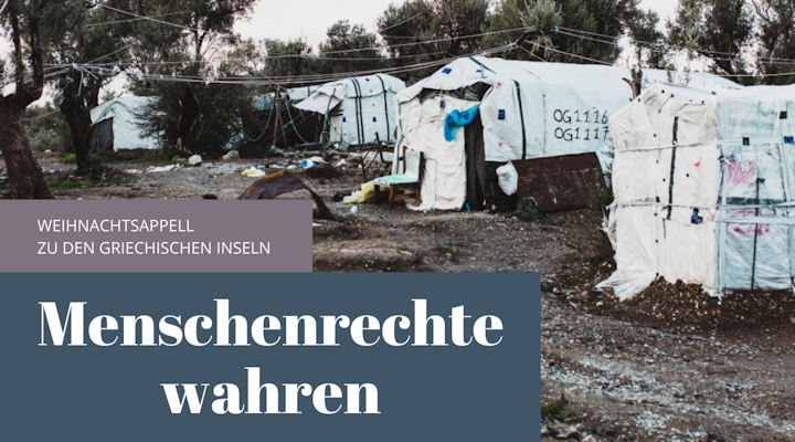 Weihnachtsappell: Für eine humanitäre Aufnahme Geflüchteter