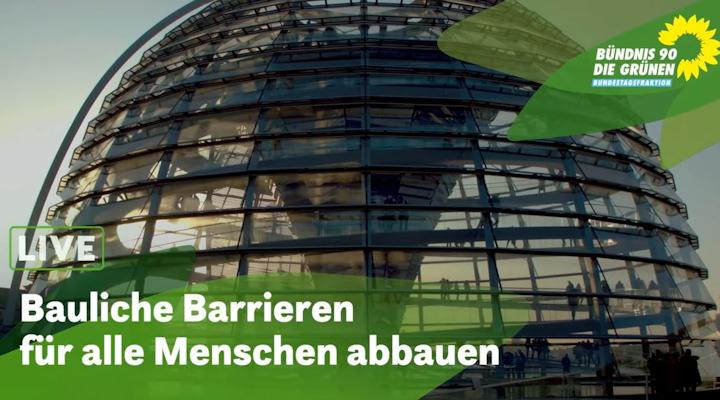 Fachgespräch: Bauliche Barrieren abbauen